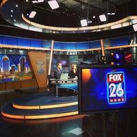 Photo taken at FOX 26 (KRIV-TV) by Dayna S. on 3/5/2014