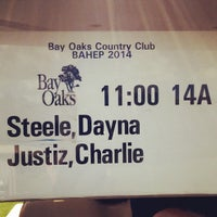Photo taken at Bay Oaks Country Club by Dayna S. on 10/27/2014