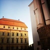 Photo taken at Nádvoří Louckého kláštera by Evina S. on 7/22/2013