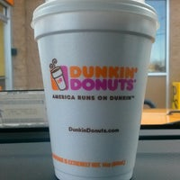 Photo taken at Dunkin Donuts by Elizabeth L. on 3/24/2013