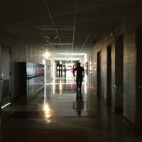 Photo taken at Fridley Middle School by Whitney H. on 9/12/2013