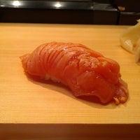 Photo taken at Tanoshi Sushi by Kaufman N. on 11/18/2012