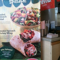 Photo taken at Tropical Smoothie Café by Kat B. on 11/21/2012