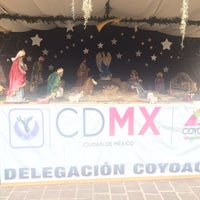 Photo taken at Delegación Coyoacán by Jesus Noe G. on 1/8/2017