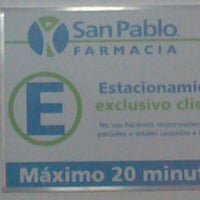 Photo taken at Farmacia San Pablo by Romina I. on 11/18/2012