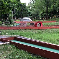Photo taken at Forsythe Mini Golf and Snacks by Amy F. on 7/25/2018