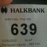 Photo taken at Halkbank by Sabo K. on 5/13/2013