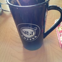 Photo taken at SPoT Coffee Transit Cafe by Candace W. on 4/22/2013