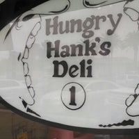 Photo taken at Hungry Hank's Deli by Marcos V. on 8/9/2014