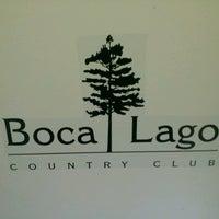 Photo taken at Boca Lago Country Club by Stelios S. on 10/25/2013