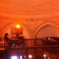 Photo taken at Acar Karavan Gözleme & Hammâm-î Ziyafe by Hüseyin T. on 12/16/2012