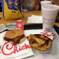 Photo taken at Chick-fil-A by Kara K. on 7/5/2013