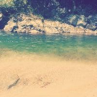 Photo taken at Yaltkaya Plajı by Tugce T. on 9/8/2014