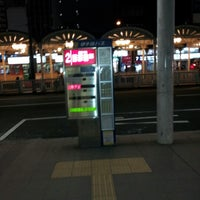 Photo taken at 松山市駅 バスターミナル by Timothy S. on 12/31/2012