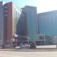 Photo taken at Ramada Plaza Gence by Safer B. on 3/8/2013