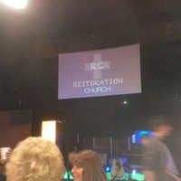 Photo taken at Restoration Church by Aaron T. on 3/24/2013
