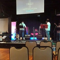Photo taken at Restoration Church by Aaron T. on 7/14/2013