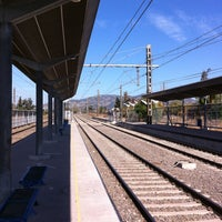 Photo taken at Estación Metrotren San Fernando by Luis R. on 4/22/2013