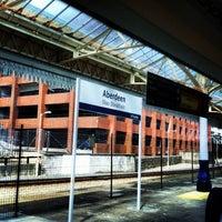 Photo taken at Aberdeen Railway Station (ABD) by Rach A. on 7/5/2013