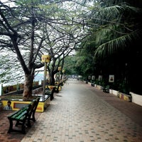 Photo taken at Marine Drive by Noushad A. on 1/24/2013