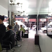 Photo taken at Michael's Today's Barber Shop by Boon Y. on 3/20/2014