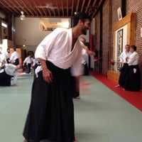 Photo taken at Suginami Aikikai by Bill H. on 5/18/2014