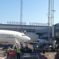 Photo taken at Copenhagen Airport (CPH) by Michael B. on 7/18/2013