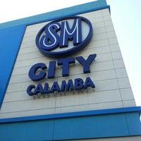Photo taken at SM City Calamba by Reneir Val P. on 3/16/2013