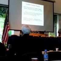 Photo taken at Buehler Alumni Center by Mehmet K. on 2/20/2014