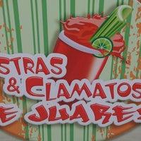 Photo taken at costras y clamatos de juarez by Israel S. on 11/21/2012
