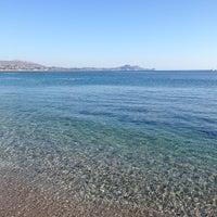 Photo taken at Kolymbia Beach by Александр О. on 10/1/2013
