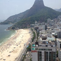 Photo taken at Marina Palace Rio Leblon by Ulyana L. on 12/27/2012