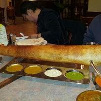 Photo taken at Anjappar Authentic Chettinadu Restaurant by Christopher L. on 1/28/2013
