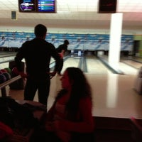 Photo taken at Cosmic Bowling by Selin A. on 12/17/2012
