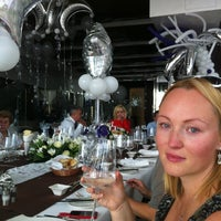 Photo taken at Asiachi Restaurant at Amathus Beach Hotel Limassol by Константин Р. on 11/25/2012