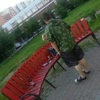 Photo taken at Полукруг by Nadezhda G. on 6/18/2013