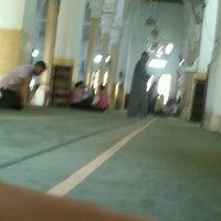 Photo taken at Masjid Saladin by Mahmoud A. on 10/30/2012