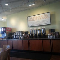 Photo taken at Einstein Bros Bagels by Norm S. on 10/14/2016