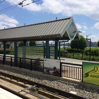 Photo taken at NJT - Port Imperial Light Rail Station by Dan C. on 6/14/2014