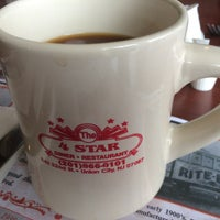 Photo taken at Four Star Diner Union City by Dan C. on 1/24/2015