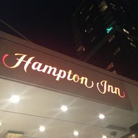 Photo taken at Hampton Inn Manhattan - Times Square North by Jill H. on 10/1/2013