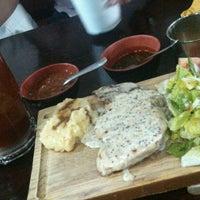 Photo taken at El Raco Restaurant Bar by Carlos R. on 3/24/2014