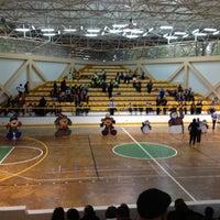 Photo taken at Unidad Deportiva Miguel Aleman Valdez by Carlos R. on 12/13/2012