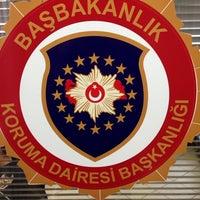 Photo taken at T.C BAŞBAKANLIK YENİ BİNA by Janberk U. on 4/13/2014