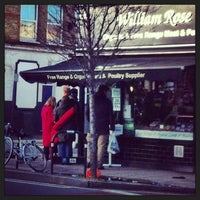 Photo taken at William Rose Butchers by Andreas I. on 2/2/2013