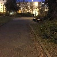 Photo taken at RNV Rheinstraße by Neslihan H. on 12/16/2016