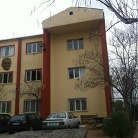 Photo taken at Ístanbul Spor Lisesi by Burak K. on 12/31/2012