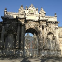 Photo taken at Dolmabahçe Palace by Esa K. on 5/18/2013
