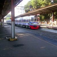 Photo taken at Stasiun Duren Kalibata by Rivaldo A. on 1/11/2014