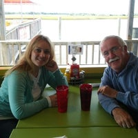 Photo taken at Fishy Fishy Cafe by David B. on 10/9/2012